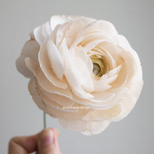 Load image into Gallery viewer, Wafer Paper Ranunculus ('Ranunculus asiaticus') - Cake Topper