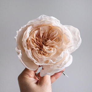 Sugar Flower Juliet Rose (Juliet David Austin Rose) - Cake Topper