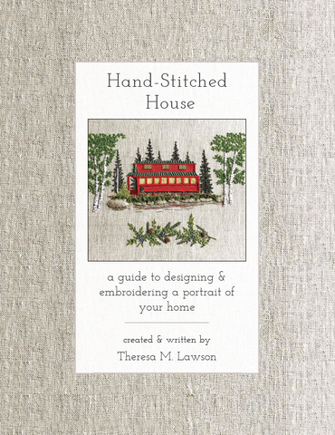 Hand-Stitched House Hardcover Contribute to Create!