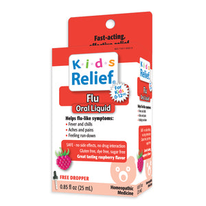 Kids Relief Flu Relief Oral Liquid for Kids 0-12 Years