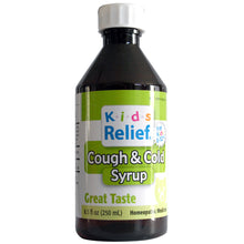 Load image into Gallery viewer, Kids Relief Cough & Cold Syrup for Kids 0-12 Years (250ML)