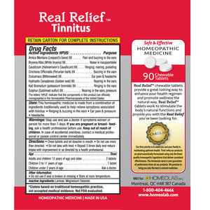 Real Relief Tinnitus Symptom Relief Tablets