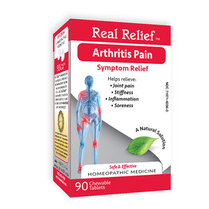 Real Relief Arthritis Pain Symptom Relief Tablets