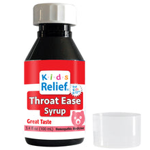 Load image into Gallery viewer, Kids Relief Throat Ease Syrup for Kids 0-12 Years