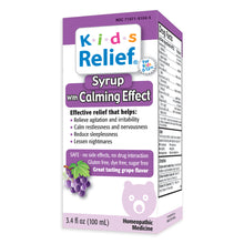 Load image into Gallery viewer, Kids Relief Calming Effect Syrup for Kids 0-12 Years