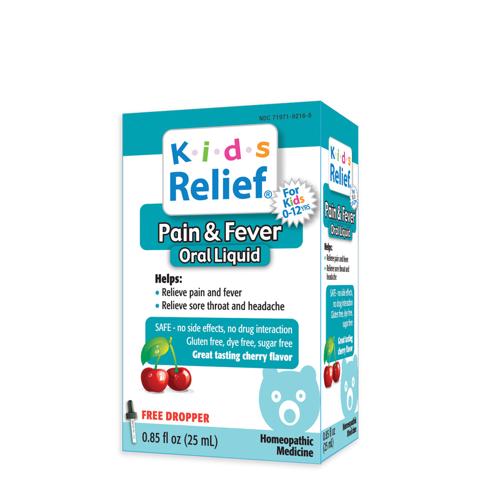 Kids Relief Pain & Fever Oral Liquid for Kids 0-12 Years