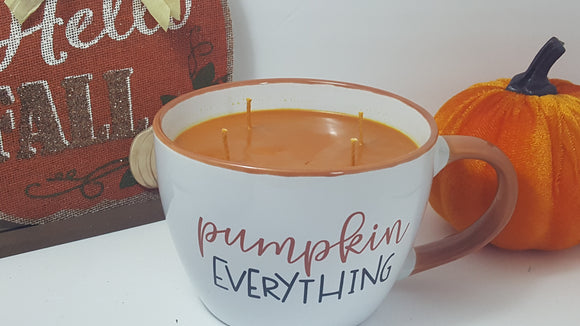 Pumpkin Spice Candle in a cup