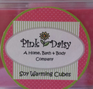 Scented Soy Warming Cubes.
