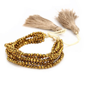 Golden Lips Bracelet Set