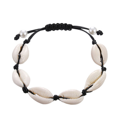 Bracelet Coquillage Blanc | Coquillages Boutique