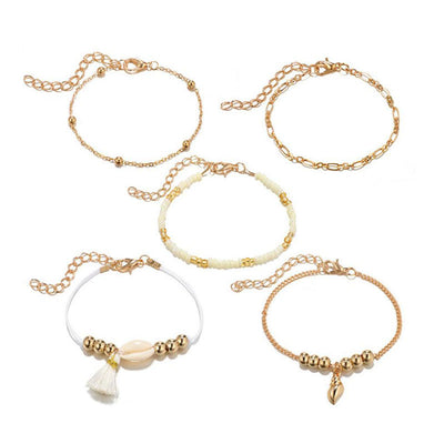 Bracelet Coquillage Bohème | Coquillages Boutique
