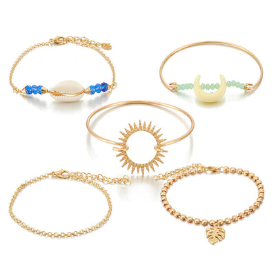 Bracelet Or Coquillage | Coquillages Boutique