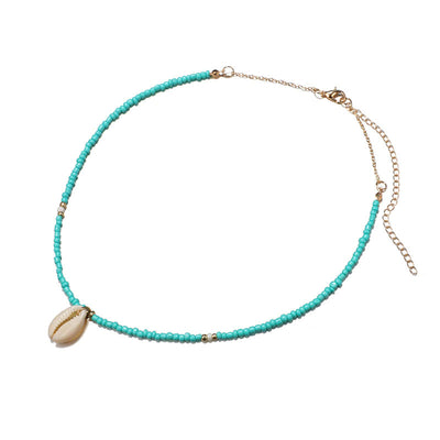 Collier Cauri Turquoise | Coquillages Boutique