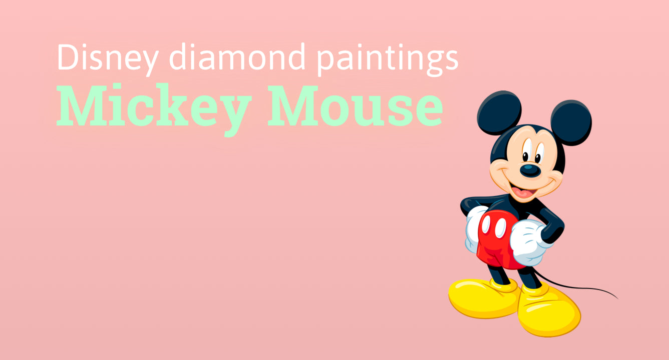diamond painting mickey mouse