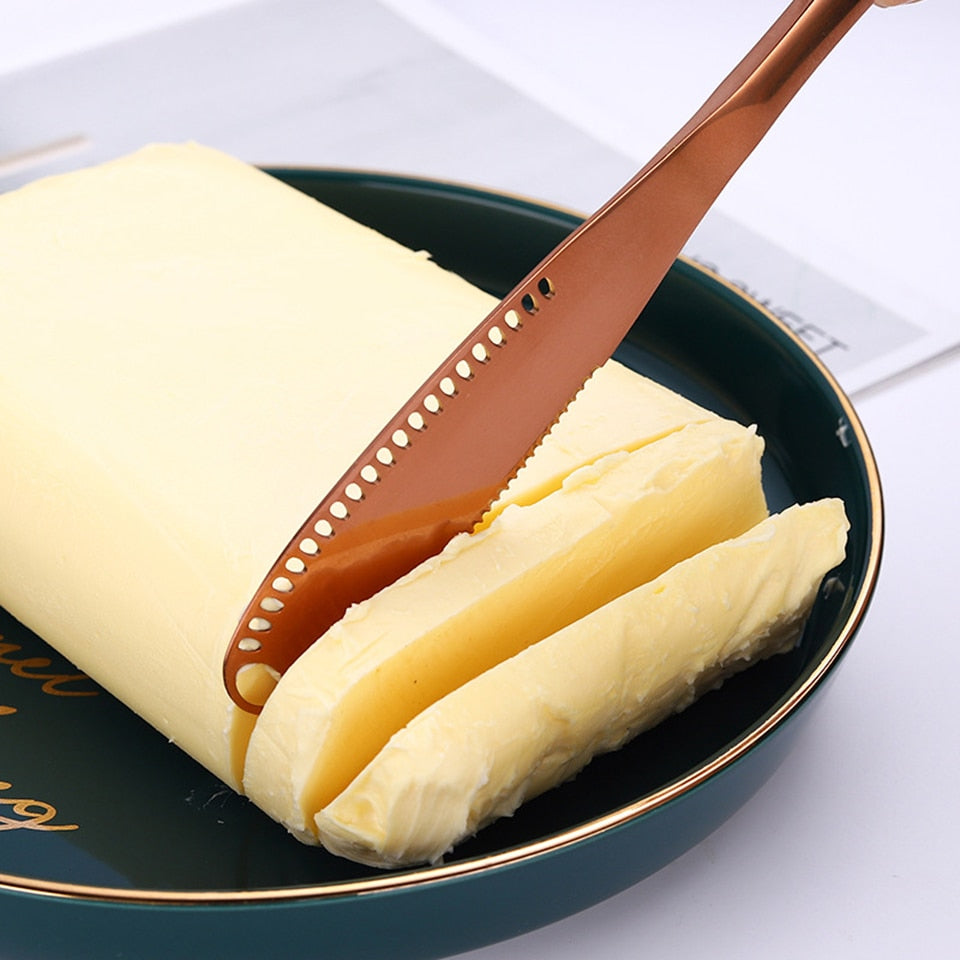 Stainless Steel Multifunctional Butter Knife - organic Kitchen Shop