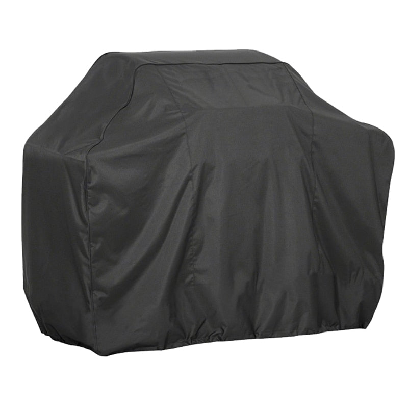 Black Waterproof BBQ Grill Cover - organic Kitchen Shop