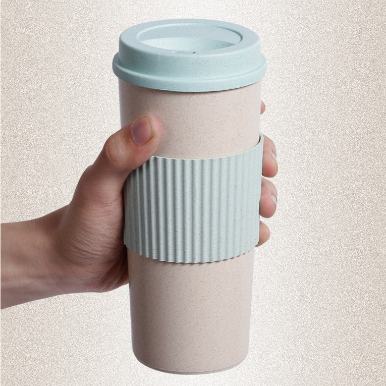 Reusable insulated Coffee Cup  With Lid - organic Kitchen Shop