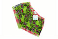 Khanga Lime Red Palm Paisley