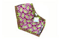 Khanga Lime Purple Paisley