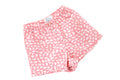 Girls Pink White Bunny Boxers