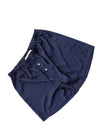 Mens Navy Satin Boxers