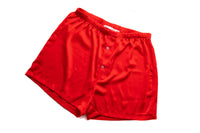 Mens Red Satin Boxers