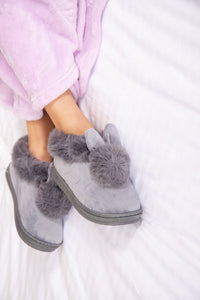 Womens Bunny Slippers