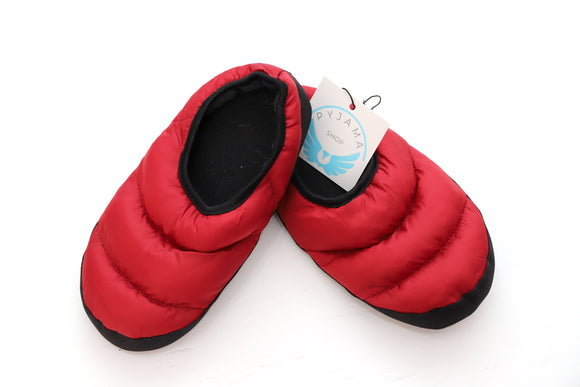 Slipper Quilted Red
