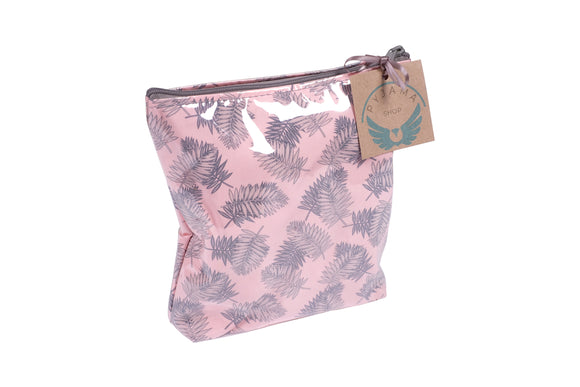 Toiletry Bag Fern Apricot Large