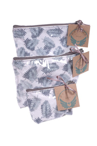 Toiletry Bag Fern White Large