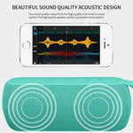 Powerful Portable Bluetooth Speaker Wireless Loudspeaker Stereo Column with TF Card FM Radio