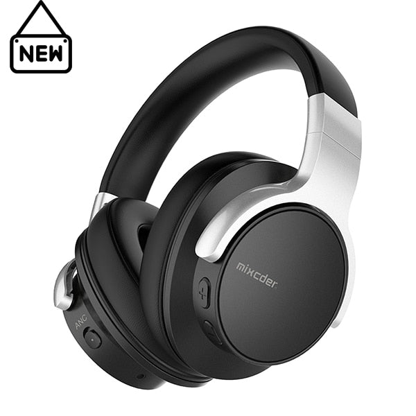 E7 Wireless Headphones Active Noise Cancelling Bluetooth V5.0 Fast Charging