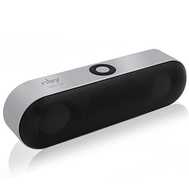 NBY-18 Mini Bluetooth Speaker Portable Wireless Speaker Sound System 3D Stereo