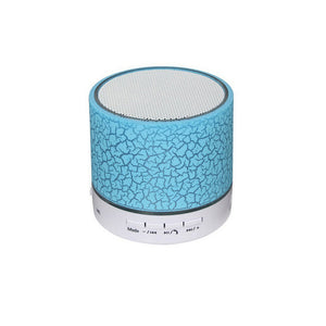 LED Wireless Bluetooth Speaker Mini Musical Audio  Subwoofer TF USB FM Radio