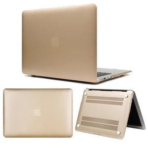 KK&LL Matte Hard Shell Laptop case For Apple MacBook Air Pro