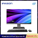 IPASON all in one computer 23.8 inch office desktop /9th Gen i5-9400 8G RAM