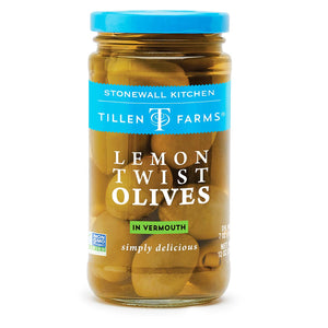 Lemon Twist Olives by Tillen Farms