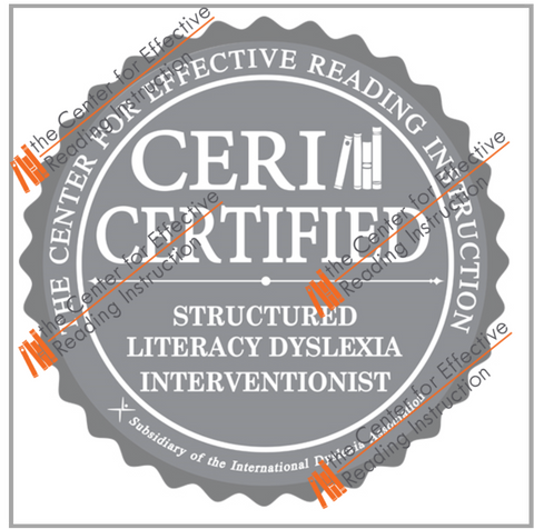 Structured Literacy Dyslexia Interventionist PNG Digital Badge