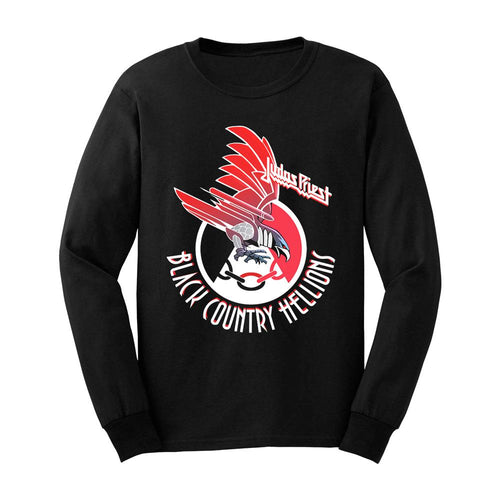 Screaming For Vengeance Black Country Hellions Long Sleeve Tee