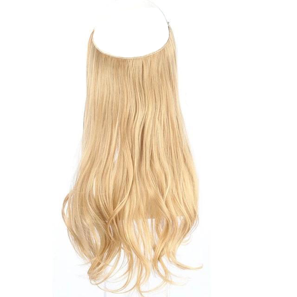 Hi, I'm SALLY - Synthetic Wave Halo Hair Extensions
