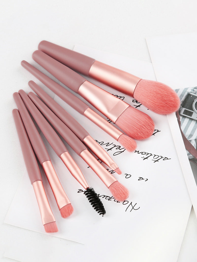 8PCS Travel Brush Kit