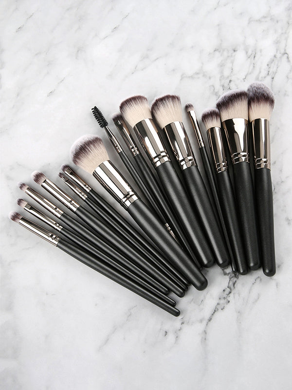 15PCS The Master Collection Makeup Brush Set