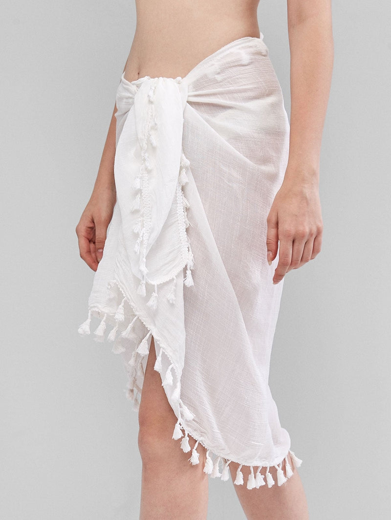Tassels Sarong Cover-up