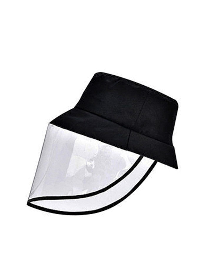 Detachable Face Shield Outdoor Protective Bucket Hat