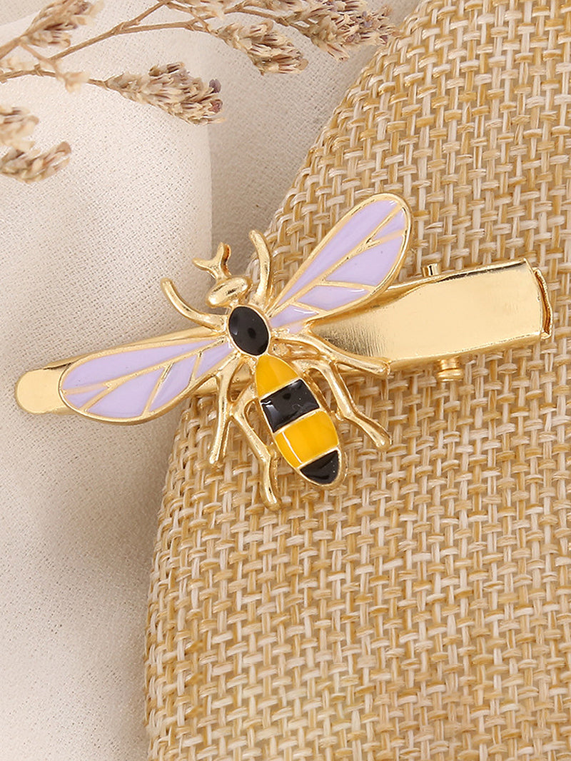 Bee Decor Hair Clip
