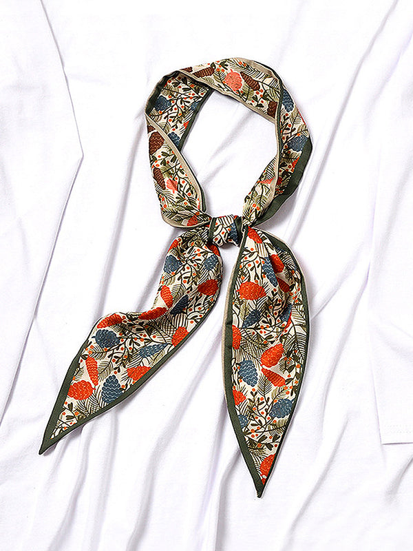 Countryside Style Skinny Scarf