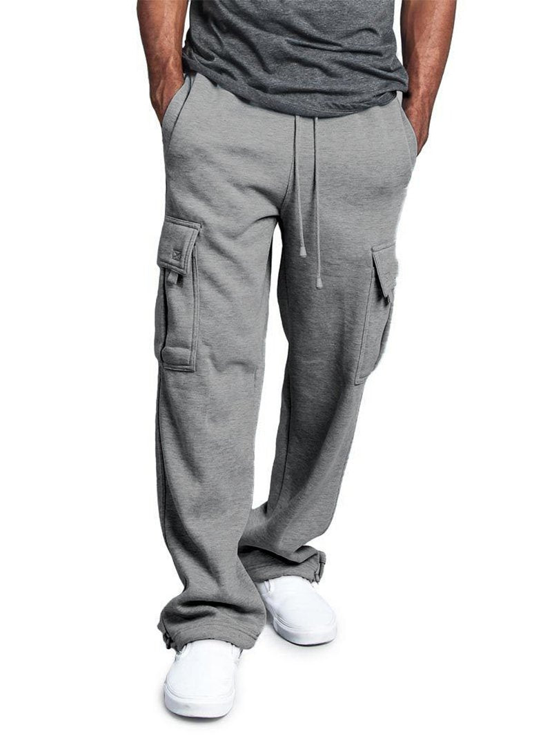 Men's Straight Fit Cargo Pants