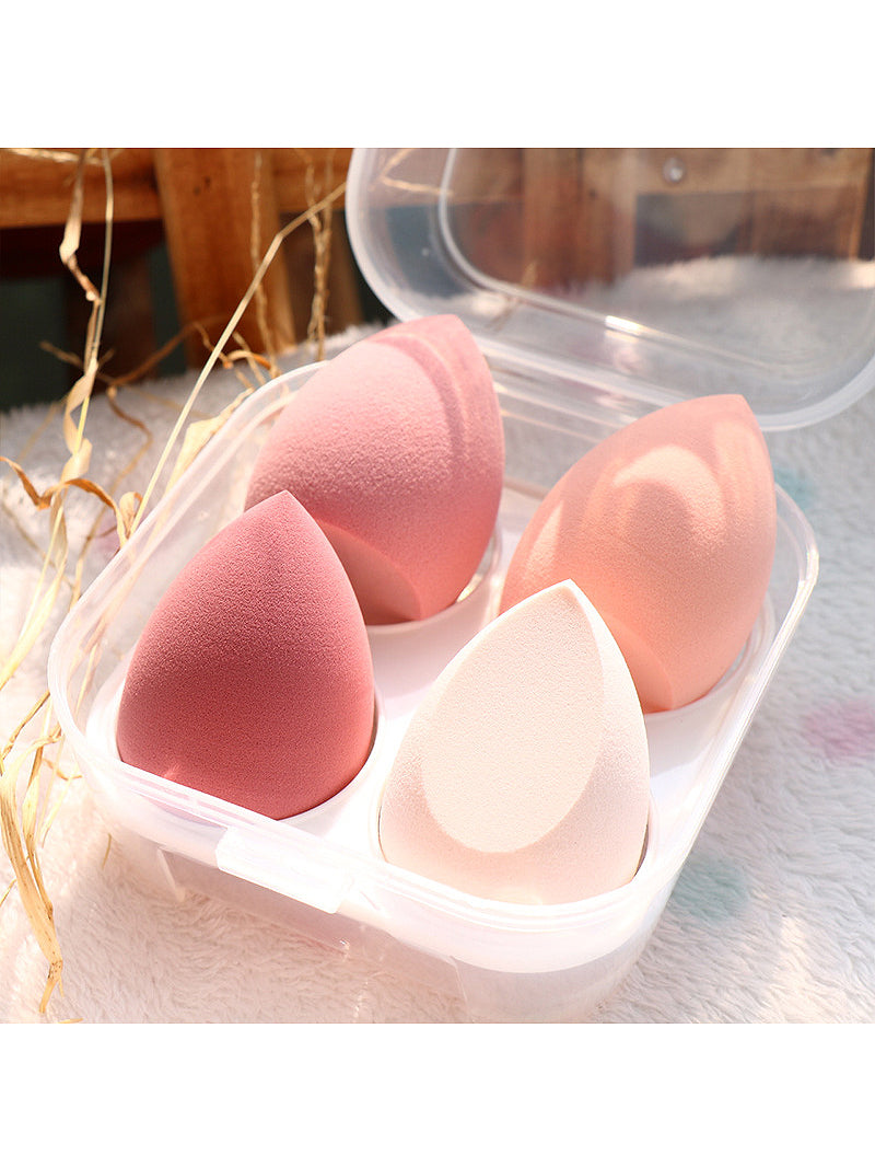 4pcs Makeup Sponge With Box