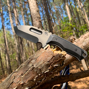 Medford Emperor PVD S35 Black G10 Handles with Black Kydex Sheath