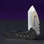 Medford Praetorian T S35VN Tumbled Tanto Blade PVD Handle Stainless PVD Hardware Clip and Breaker